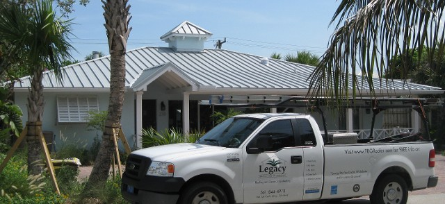 Palm Beach Gardens Metal Roof Replacement