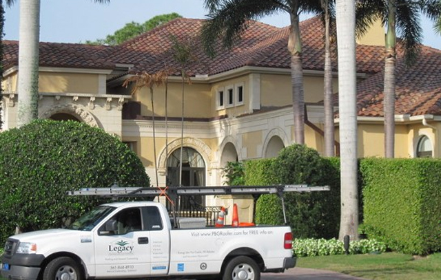 Tile Roof Replacement Palm Beach Gardens Florida